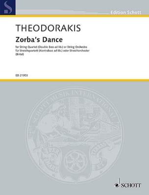 Zorba's Dance - Quatuor à Cordes THEODORAKIS Partition laflutedepan