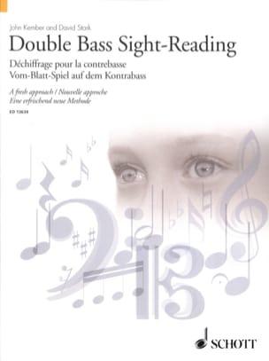 Kember John / Stark David - Double Bass Sight-Reading - Sheet Music - di-arezzo.com