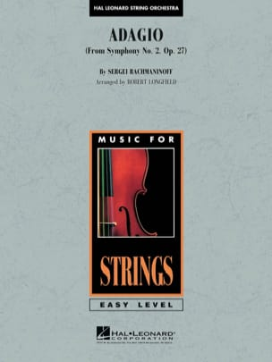 RACHMANINOV - Adagio for strings - Sheet Music - di-arezzo.com