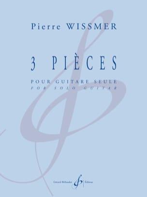 Pierre Wissmer - 3 Pièces - Guitare seule - Partition - di-arezzo.fr