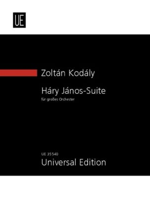 Zoltan Kodaly - Hary Janos Suite - Conducteur - Partition - di-arezzo.fr