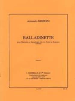 Armando Ghidoni - Balladinette - Noten - di-arezzo.de