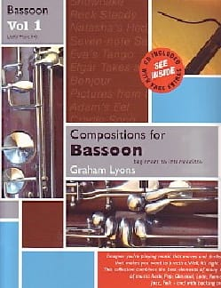 Graham Lyons - Compositions for Bassoon - Vol. 1 - Partition - di-arezzo.fr