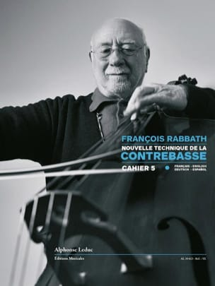 François Rabbath - Nouvelle Technique de la Contrebasse Vol. 5 - Partition - di-arezzo.fr