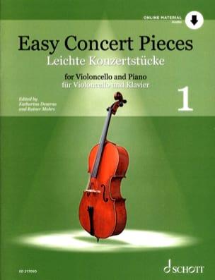 Easy Concert Pieces Volume 1 - Violoncelle et piano - Partition - di-arezzo.fr