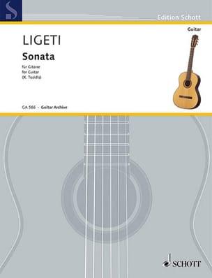György Ligeti - Sonate - Guitare - Partition - di-arezzo.fr
