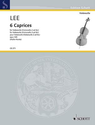 6 Caprices, opus 109 - Violoncelle Sebastian Lee laflutedepan