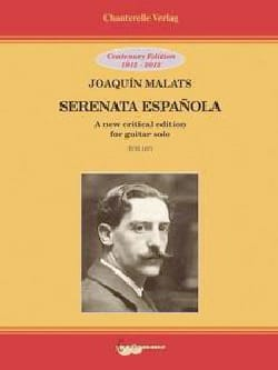 Joaquin Malats - Serenata Espanola - Guitare - Partition - di-arezzo.fr