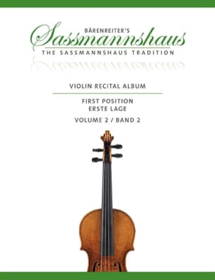 egon Sassmannshaus - Violon Recital Album, Vol. 2 - Partition - di-arezzo.fr
