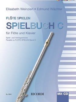 Flöte spielen - Spielbuch C - Flûte et piano - laflutedepan.com