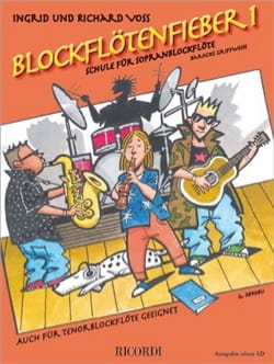 Richard et Ingrid Voss - Blockflötenfieber 1 - Recorder - Sheet Music - di-arezzo.com