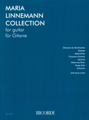 Maria Linnemann - Maria Linnemann Collection - Guitar - Sheet Music - di-arezzo.com