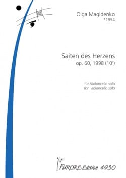 Olga Magidenko - Saiten des Herzens, op. 60 - Solo cello - Sheet Music - di-arezzo.co.uk