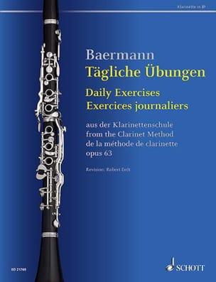 Carl Baermann - Ejercicios diarios para clarinete - Partitura - di-arezzo.es