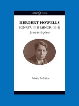 Herbert Howells - Sonate en si mineur - Violon et piano - Partition - di-arezzo.fr