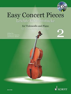 - Easy Concert Pieces, Volume 2 - Violoncelle et piano - Partition - di-arezzo.fr