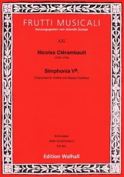 Simphonia 5a. Chaconne - Violon et Basse continue laflutedepan