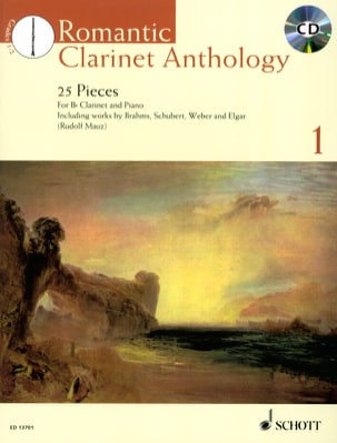 - Romantic Clarinet Anthology volume 1 - Sheet Music - di-arezzo.co.uk