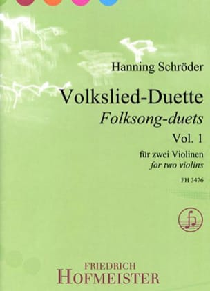 - Volkslied-Duette, Vol. 1 - 2 Violins - Sheet Music - di-arezzo.com