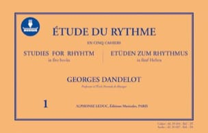 DANDELOT - Rhythm Study Volume 1 - WITH DOWNLOAD CARD - Sheet Music - di-arezzo.co.uk