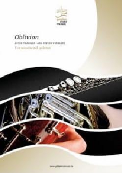 Astor Piazzolla - Oblivion - Woodwind Quintette - Sheet Music - di-arezzo.com