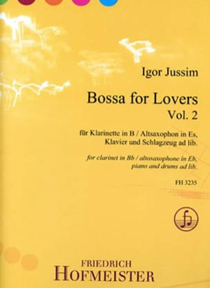 Bossa for Lovers, vol. 2 - Clarinette et piano - laflutedepan.com