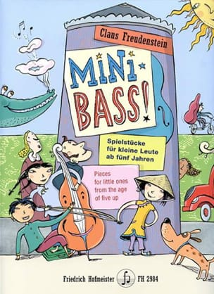 Claus Freudenstein - Mini Bass! - Sheet Music - di-arezzo.co.uk