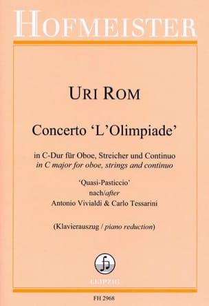 Uri Rom - Concerto L'Olimpiade - Hautbois et piano - Partition - di-arezzo.fr