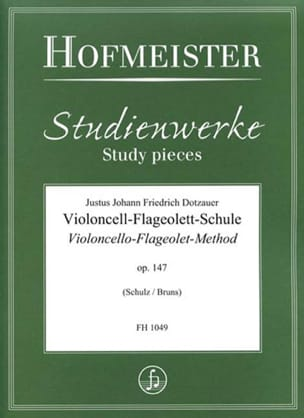 Friedrich Dotzauer - Violoncello-Flageolet-Method, op. 147 - Sheet Music - di-arezzo.co.uk
