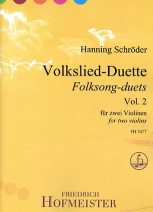 - Volkslied-Duette, vol. 2 - 2 violins - Sheet Music - di-arezzo.com