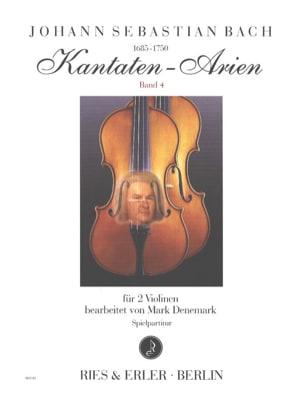 BACH - Kantaten-Arien, Vol. 4 - 2 violins - Partition - di-arezzo.com