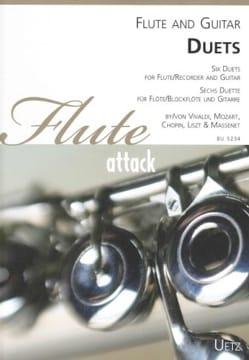 - 6 Duos - Flute and Guitar - Sheet Music - di-arezzo.com