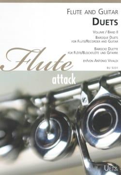 Antonio Vivaldi - Duos - Flûte et Guitare - Partition - di-arezzo.fr