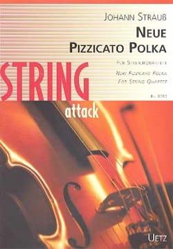 Neue Pizzicato Polka - Quatuor à Cordes - laflutedepan.com