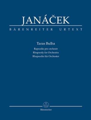 Leos Janacek - Taras Bulba - Driver - Sheet Music - di-arezzo.co.uk