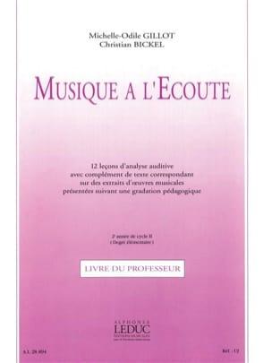 Musique à l'Ecoute - Elém. + K7 - Professeur laflutedepan