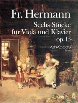 6 Pièces, op. 15 - Alto et piano - laflutedepan.com