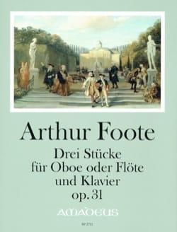 3 Pièces, op. 31 - Hautbois (ou Flûte) et piano - laflutedepan.com
