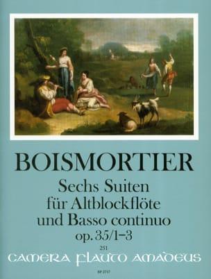 6 Suites, op. 35 Vol. 1 - Flûte à bec alto et BC - laflutedepan.com