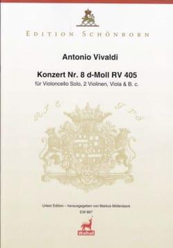Concerto pour violoncelle en ré mineur, RV 405 - Violoncelle et piano laflutedepan