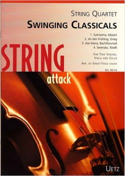 - Swinging Classicals - Quatuor à cordes - Partition - di-arezzo.fr