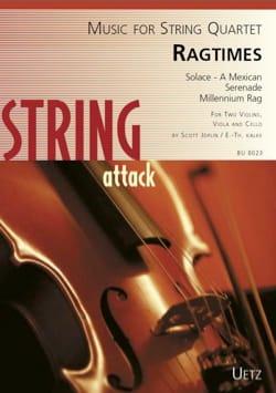 Ragtimes - Quatuor à cordes - Scott Joplin - laflutedepan.com