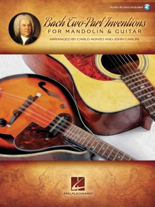 BACH - 15 Inventions with 2 voices - Mandolin and Guitar - Sheet Music - di-arezzo.co.uk