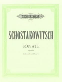 CHOSTAKOVITCH - Sonata op. 40 - Sheet Music - di-arezzo.co.uk