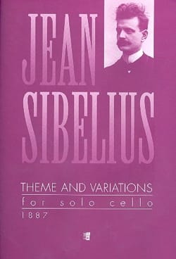 Jean Sibelius - Theme and Variations - Sheet Music - di-arezzo.co.uk