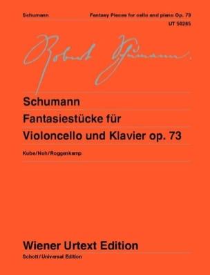 Robert Schumann - Fantasiestücke, op. 73 - Violoncelle et piano - Partition - di-arezzo.fr