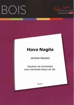Traditionnel - Hava Nagila - 4 Clarinettes - Partition - di-arezzo.fr