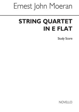 Ernest John Moeran - String Quartet in E flat Study score - Sheet Music - di-arezzo.com