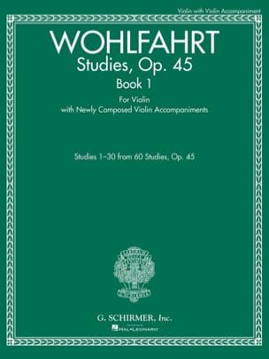 Franz Wohlfahrt - Estudios, op. 45 Libro 1 - Violín - Partitura - di-arezzo.es