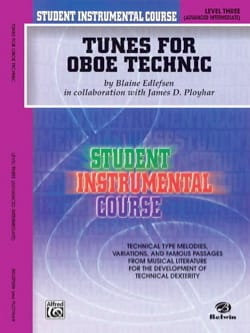 Edfelsen Blaine - Curso instrumental para estudiantes: melodías para la técnica de oboe, nivel 3 - Partitura - di-arezzo.es